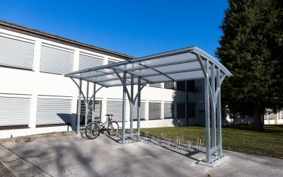 Nova pridobitev šole kolesarnica