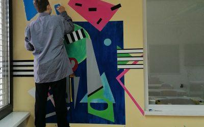 Stenska poslikava – mural